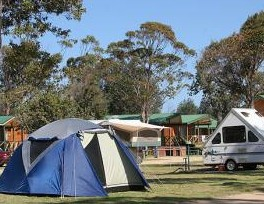 BIG4 Moruya Heads Easts at Dolphin Beach Holiday Park - Goulburn Accommodation