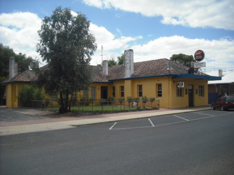 Goroke Hotel Bar amp Bistro - Goulburn Accommodation