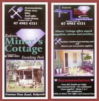 Miner's Cottage - Goulburn Accommodation