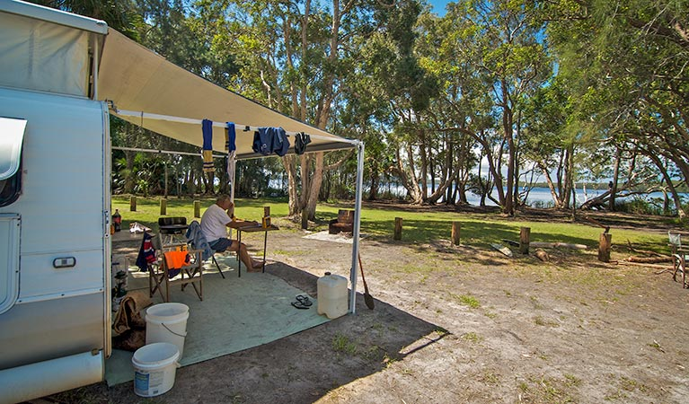 Dees Corner campground - Goulburn Accommodation