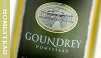 Goundrey Wines - Goulburn Accommodation
