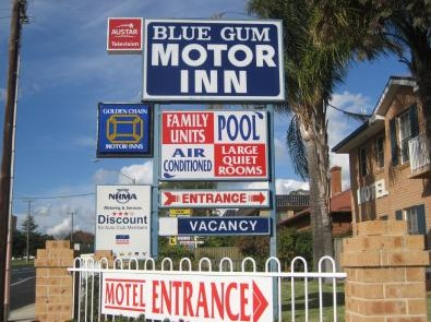 Blue Gum Motor Inn - Goulburn Accommodation