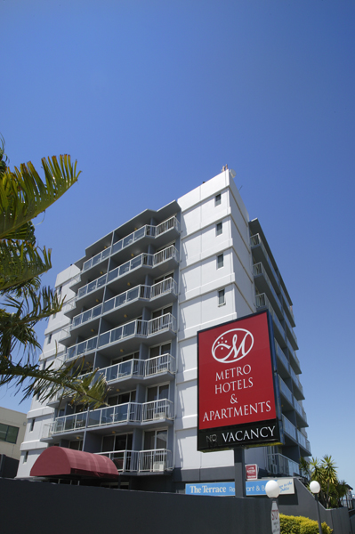 Metro Hotel  Apartments Gladstone - Goulburn Accommodation