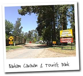 Barham Caravan And Tourist Park - Goulburn Accommodation