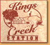 Kings Creek Station - Goulburn Accommodation