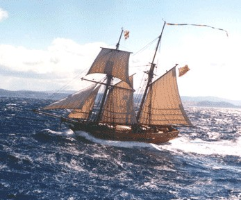 Enterprize - Melbourne's Tall Ship - Goulburn Accommodation