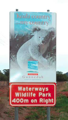 Waterways Wildlife Park - Goulburn Accommodation