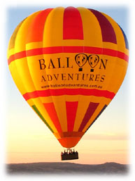 Balloon Adventures Barossa Valley - Goulburn Accommodation