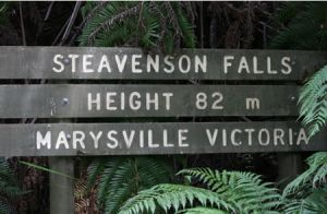 Stevensons Falls - Goulburn Accommodation