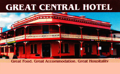 Great Central Hotel - Goulburn Accommodation