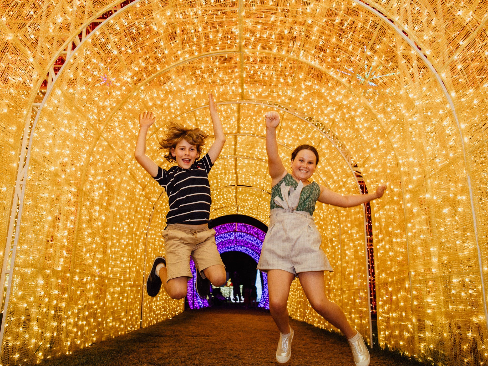 Christmas Lights Spectacular New Year's Eve at Hunter Valley Gardens - Goulburn Accommodation