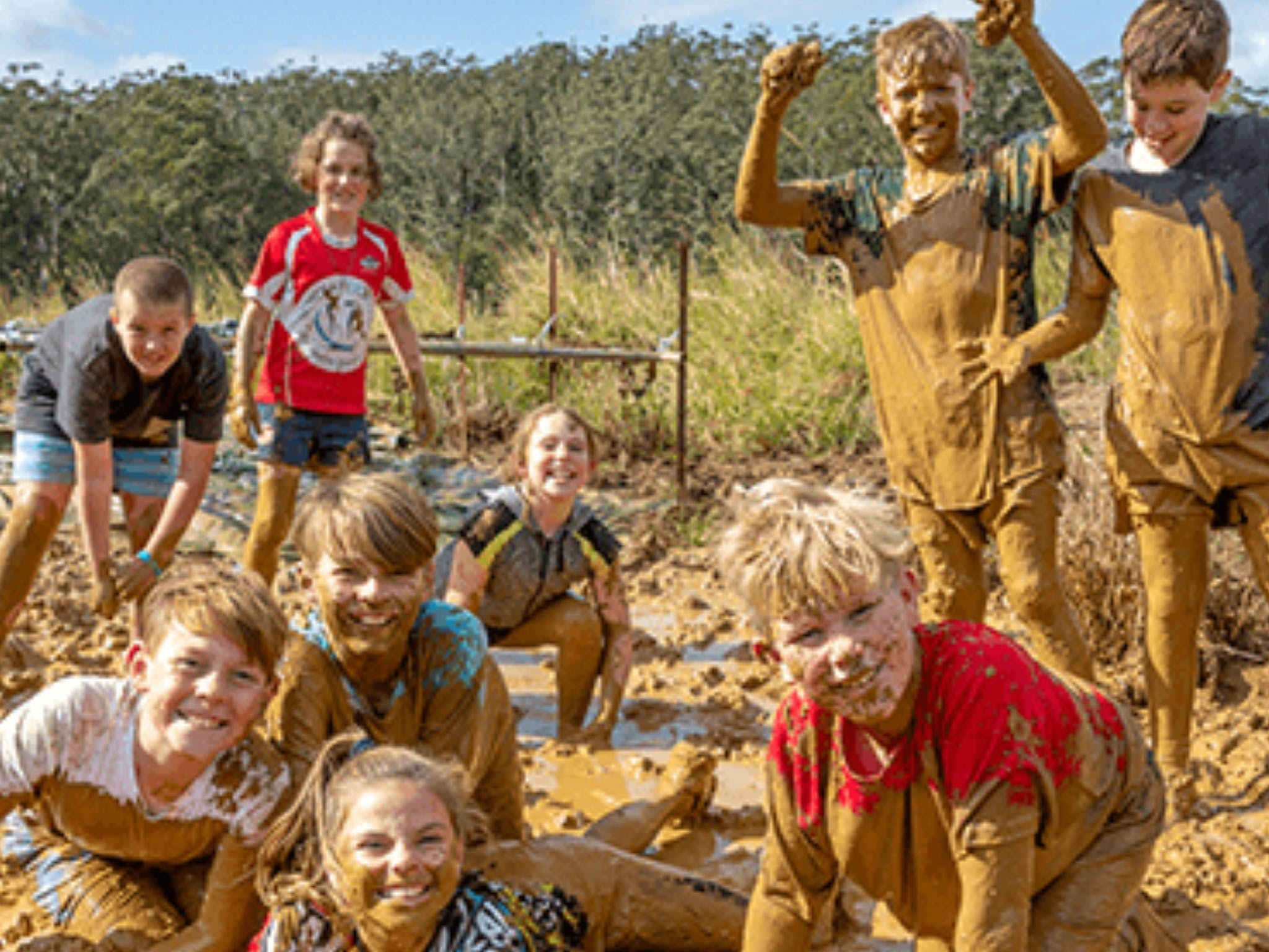 Mini Muddies Obstacle Challenge at Bunnamagoo Estate - Goulburn Accommodation
