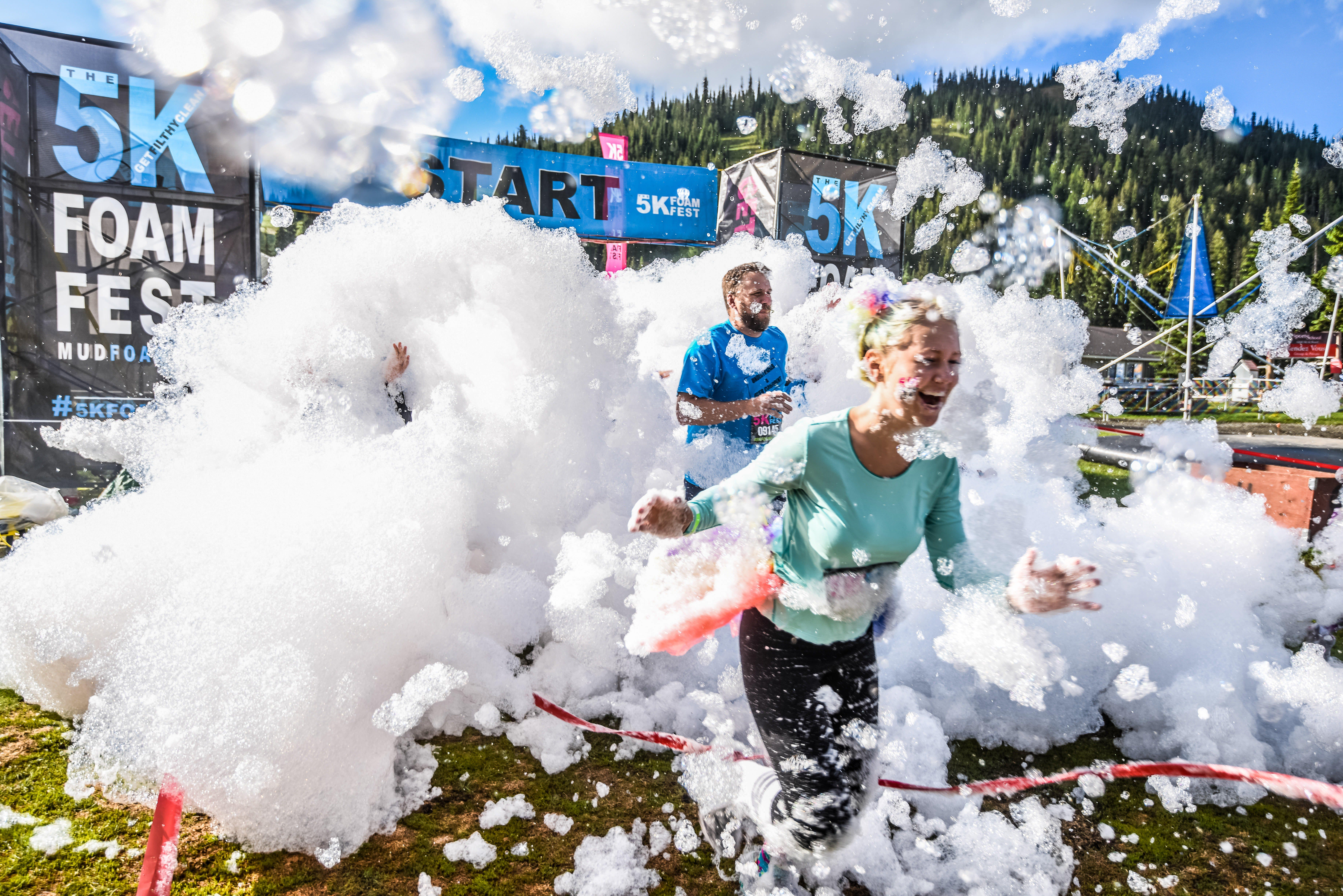 The 5K Foam Fest - Perth - Goulburn Accommodation