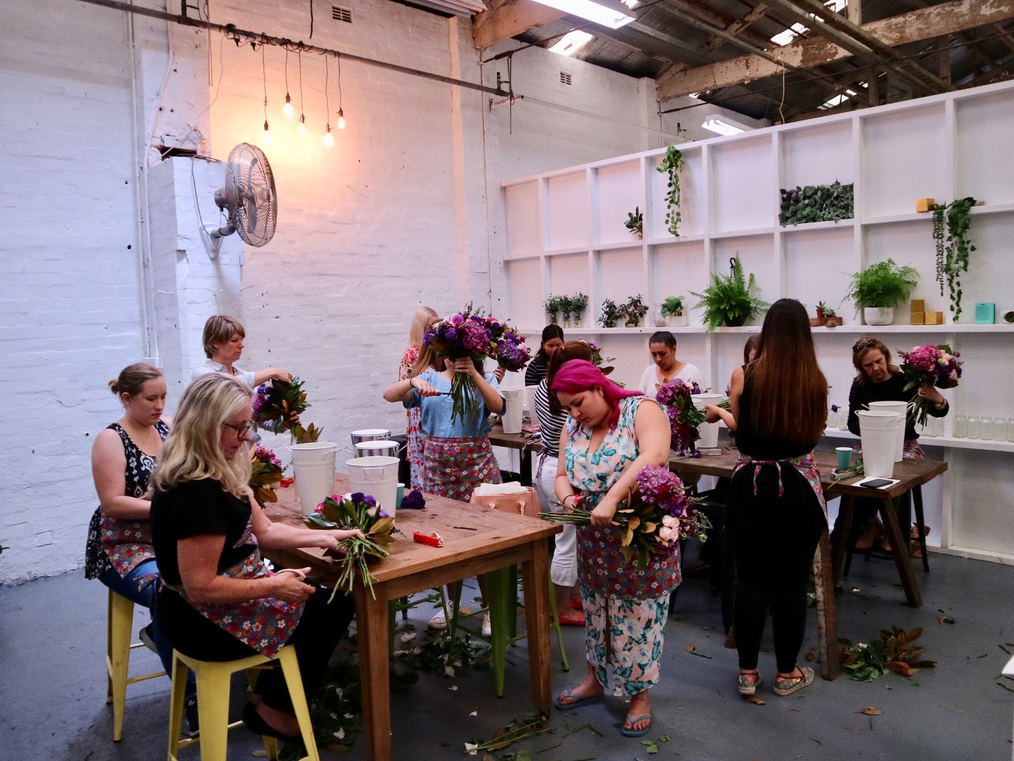 Fun Floral workshops for beginners - Goulburn Accommodation